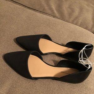Old navy Sandals Black leather